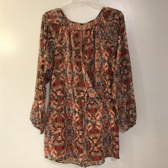 BCBGeneration Dresses & Skirts - 🔥BCBG Floral Jumper NWT
